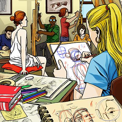 ADAC Accademia delle Arti Creative - Corsi di Anatomia Artistica