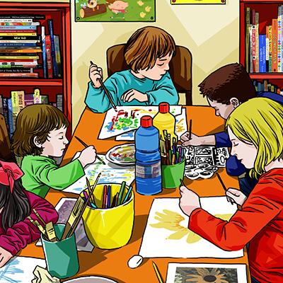 ADAC Accademia delle Arti Creative - Corsi di disegno per bambini e ragazzi