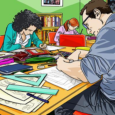 Accademia ADAC - Corso base di disegno