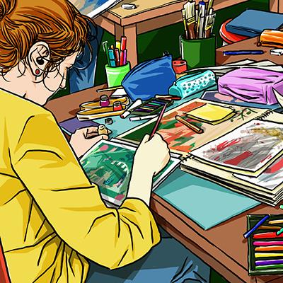 ADAC Accademia delle Arti Creative - Corso di illustrazione a Modena