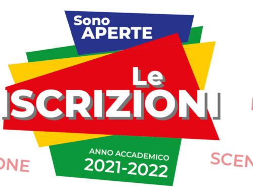 ISCRIZIONI ai CORSI dell'ANNO ACCADEMICO 2021/2022